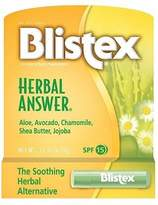 Blistex Herbal Answer Lip Protectant, SPF 15