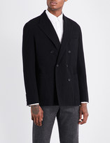 Camoshita Double-breasted wool blazer
