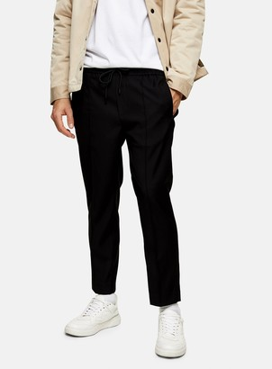 Topman Black Slim Smart Joggers