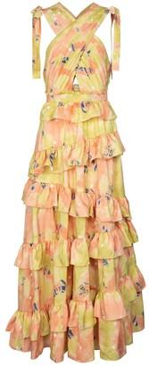 Ulla Johnson Zahra printed silk gown