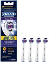 Oral-B Oral B 3D White Electric Toothbrush Heads - 4 Pack