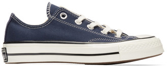 Converse Navy Chuck 70 Low Sneakers