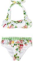 MonnaLisa floral bikini set