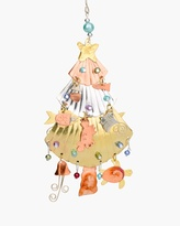 Chico's Beachy Christmas Tree Ornament