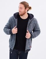 Quiksilver Mens Keller Sherpa Zipped Hoodie