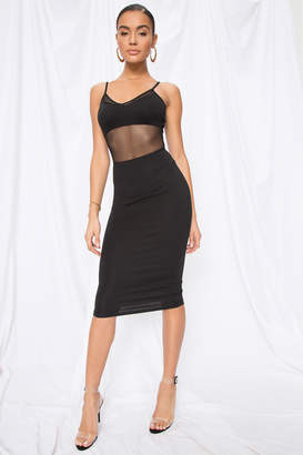 by the way. Sophie Mesh Midi Dress