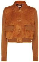 Miu Miu Wool and leather jacket