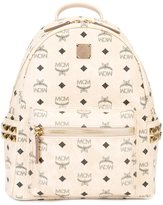MCM logo print backpack - unisex - PVC/metal - One Size