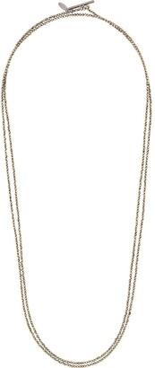 Brunello Cucinelli Cpir two-strand necklace