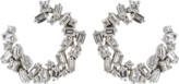 Suzanne Kalan Diamond Fireworks Spiral Earrings