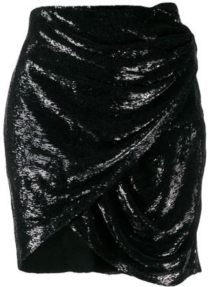 IRO Draped Mini Skirt