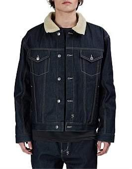 Ksubi Oh G Jacket Borg Pure Blue