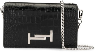 Tod's Double T chain wallet