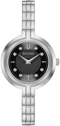 Bulova Women's Rhapsody Stainless Steel Watch, 30mm