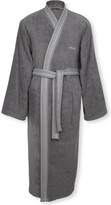 Calvin Klein Riviera Charcoal Robe Extra Large