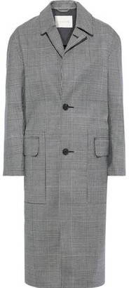 MACKINTOSH Chester Checked Wool-twill Coat