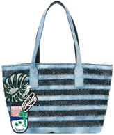 Marc Jacobs denim Wingman tote - women - Cotton - One Size