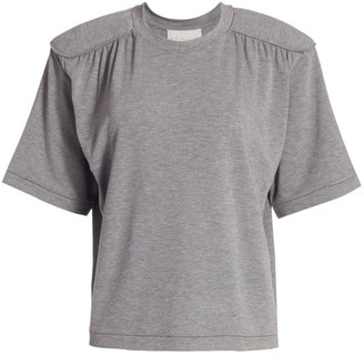 REMAIN Birger Christensen Verona Padded Shoulder T-Shirt