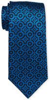 Duchamp Hexagon Geo Silk Tie