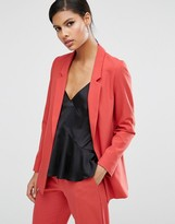 Asos Slim Tailored Jacket in Crepe