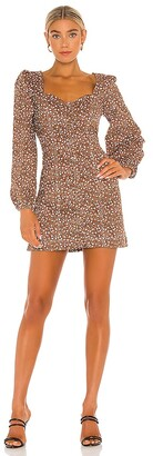Free People Call Me Cord Mini Dress