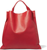 Jil Sander Textured-leather tote