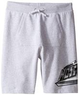 Moschino Kids - Sweatshorts w/ Front Pocket Logo Detail Boy's Shorts
