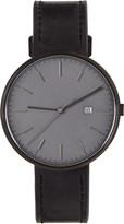 Uniform Wares Gunmetal & Black M40 Watch