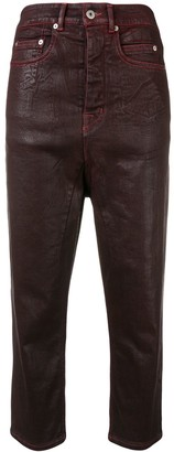 Rick Owens Collapse cropped trousers
