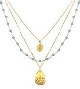 Satya Jewelry Triple Chain Necklace