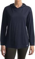 Calida Stretch & Relax Lounge Shirt - Hooded, Long Sleeve (For Women)
