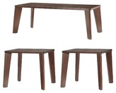Inspire Q Sullivan 3 Piece Mid Century Occasional Table Set Espresso