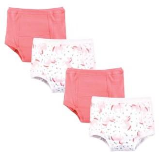 Hudson Baby Training Pants 4pk (Baby Girls)
