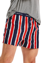 Peter Alexander peteralexander Mens Painted Stripe Boxer Short