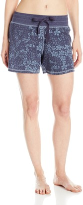 Dylan by True Grit Women's Road Trip Floral Sleep Short