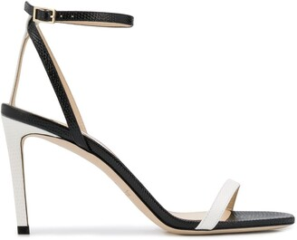 Jimmy Choo Minny 85mm two-tone sandals