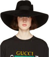 Gucci Black Anita Fedora