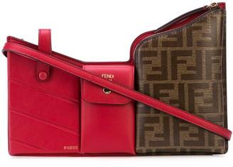 Fendi FF 3 pockets mini bag