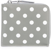 Comme des Garcons polka dots wallet - unisex - Leather - One Size