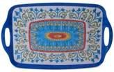 Certified International Melamine Tuscany Rectangular Handled Tray