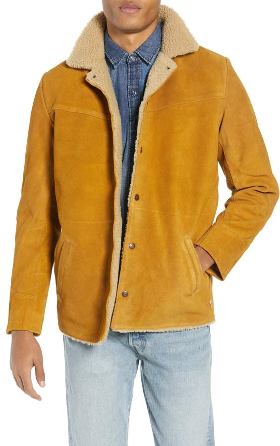 Levi's Fleece Lined Suede Jacket