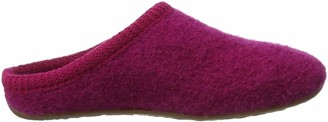 Haflinger Unisex Adults' Everest Classic Open Back Slippers