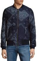 Scotch & Soda Printed Long-Sleeve Jacket