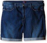 NYDJ Women's Petite Avery Shorts in Premium Lightweight Denim