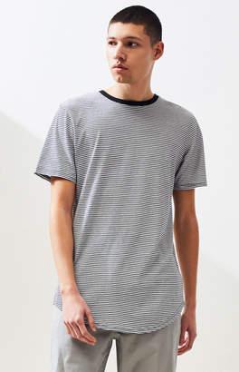 Proenza Schouler Basics Basics Wesely Stripe Scallop T-Shirt