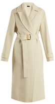 Joseph Dale peak-lapel cashmere-blend trench coat