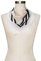 Merona Women's Cream Geometric Fashion Scarf