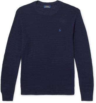 Polo Ralph Lauren Cotton And Linen-Blend Sweater
