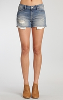 Mavi Jeans Emily Shorts In Used Ripped Vintage