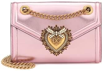 Dolce & Gabbana Devotion Mini leather shoulder bag